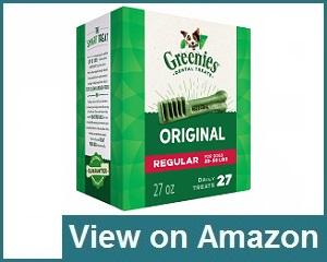 Greenies Regular Treats Review