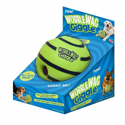 Allstar Innovations Giggle Ball Dog Toy