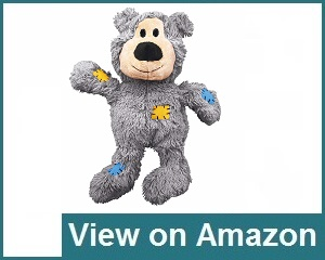 KONG Knots Squeaker Bear Dog Toy Review