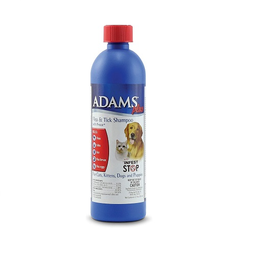 Adams Plus Flea & Tick Dog Shampoo Review