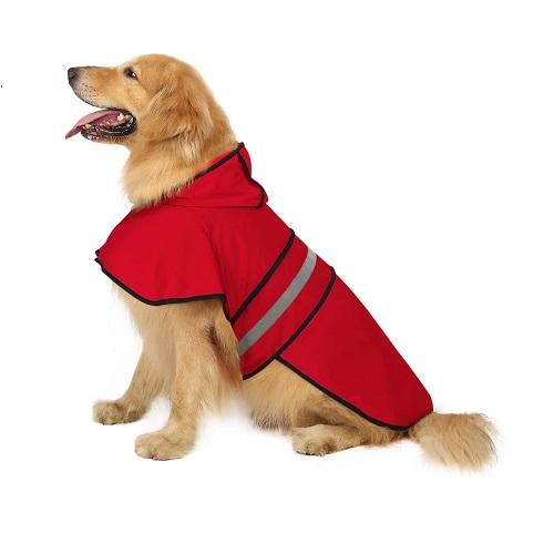 HDE Dog Raincoat Review