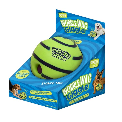 Wobble Wag Giggle Ball Interactive Dog Toy Review