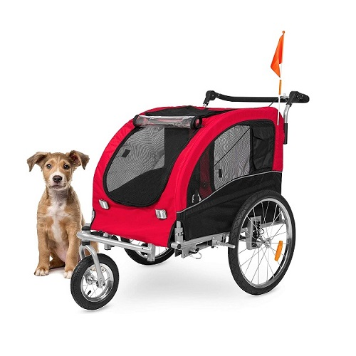 Best Choice Products Dog Bike Trailer Review