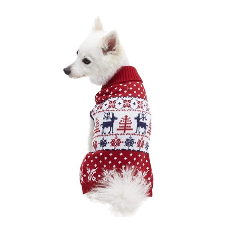 Blueberry Pet Christmas Sweater Review