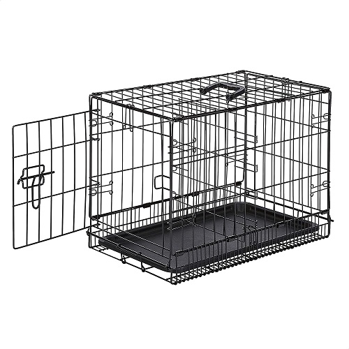 AmazonBasics Folding Small Metal Dog Crate Review