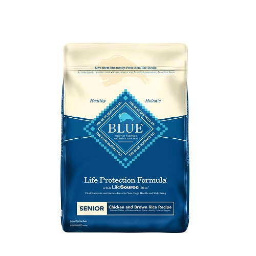 Blue Buffalo Senior Dog Food Review